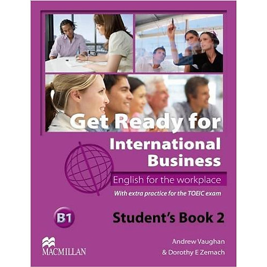 Get Ready For International Business 2: Student Book With Toeic - Paperback