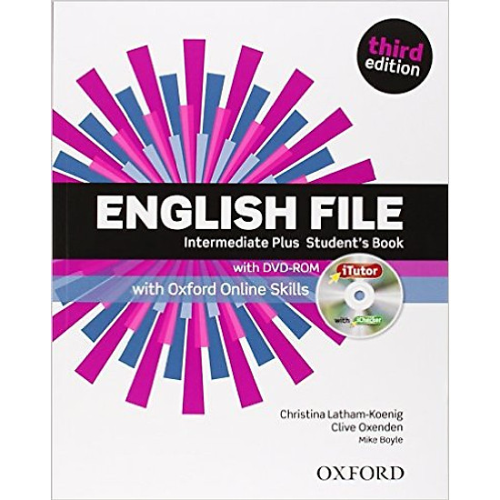 English File (3 Ed.) Inter Plus: Student Book With ITutor With Online Skills Practice Pack - Paperback