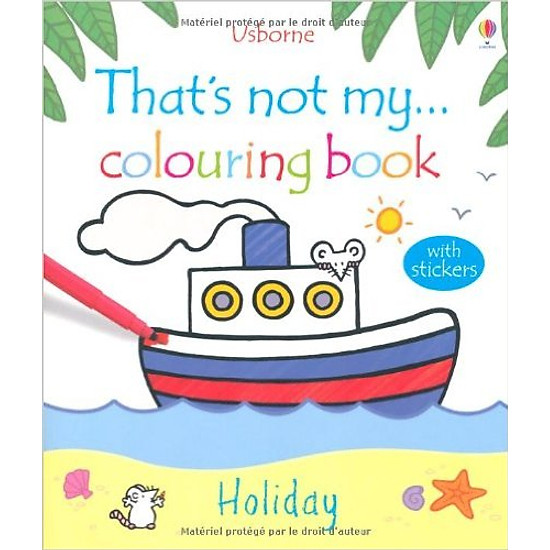 That's Not My Colouring Book: Holiday