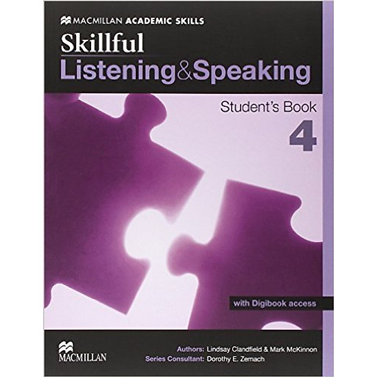 Skillful Listening And Speaking 4: Student Book With Digibook