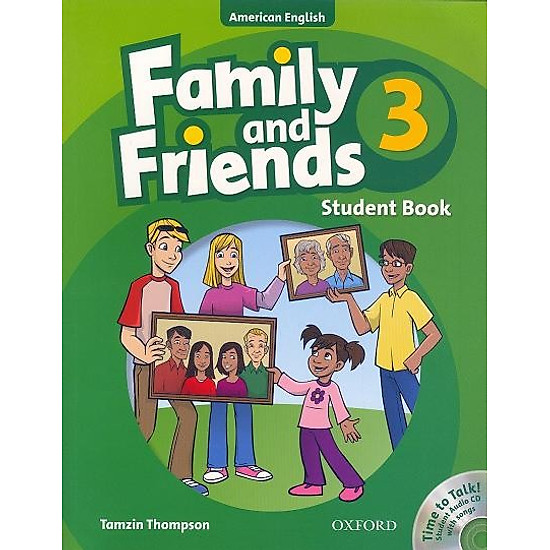 Hình ảnh của Family And Friends American (Edition 3): Student Book & Student CD Pack