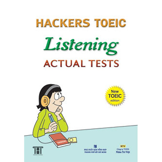 Hackers Toeic Listening Actual Tests - New Toeic Edition (Kèm 1CD)