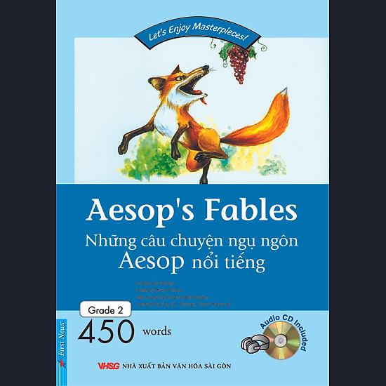 Happy Reader - Aesop's Fables (Kèm 1 CD)