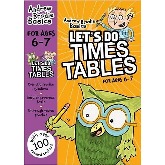 Let's Do Times Tables For Age 6 - 7