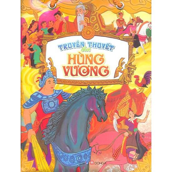 Bộ Túi Truyền Thuyết Thời Hùng Vương (5 cuốn)