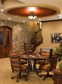 Traditional Basement Design