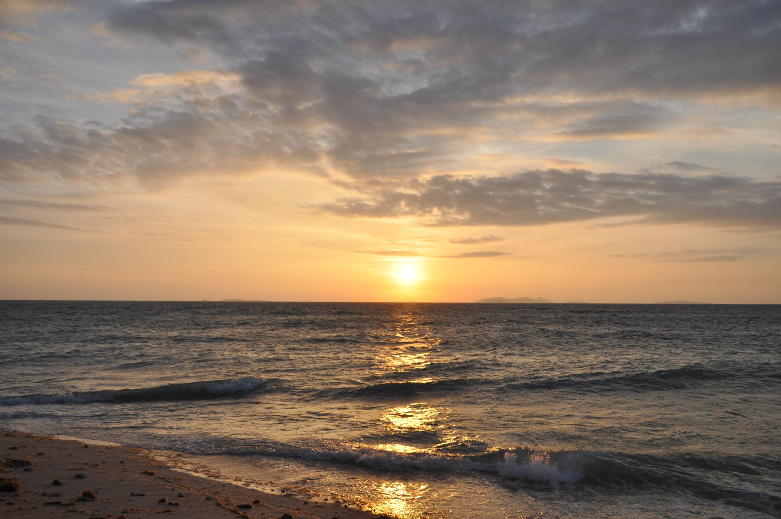 Sunset at Beachcomber Island Resort, Fiji