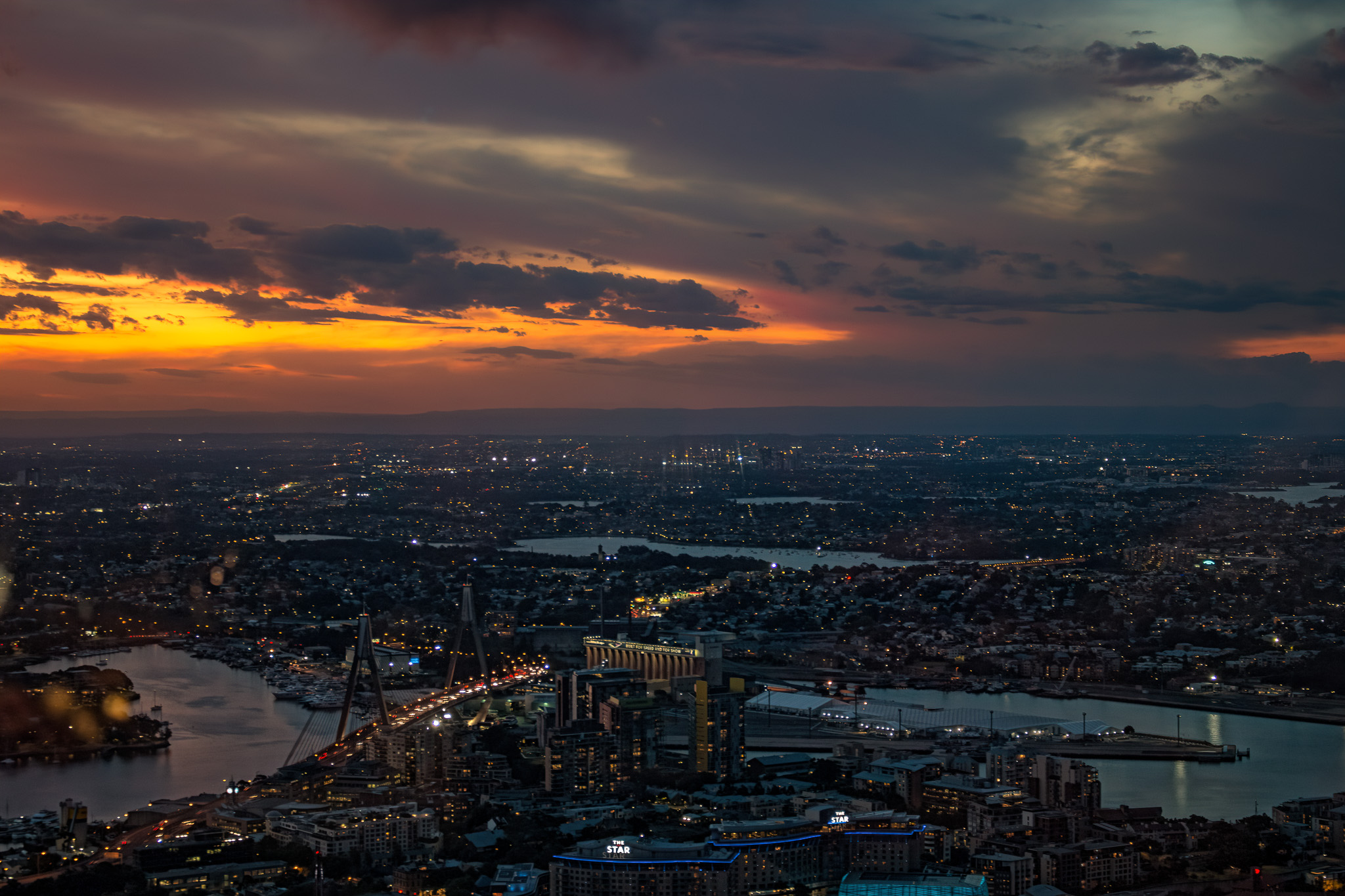 Pic of the Day – Sydney from the Sky Tower