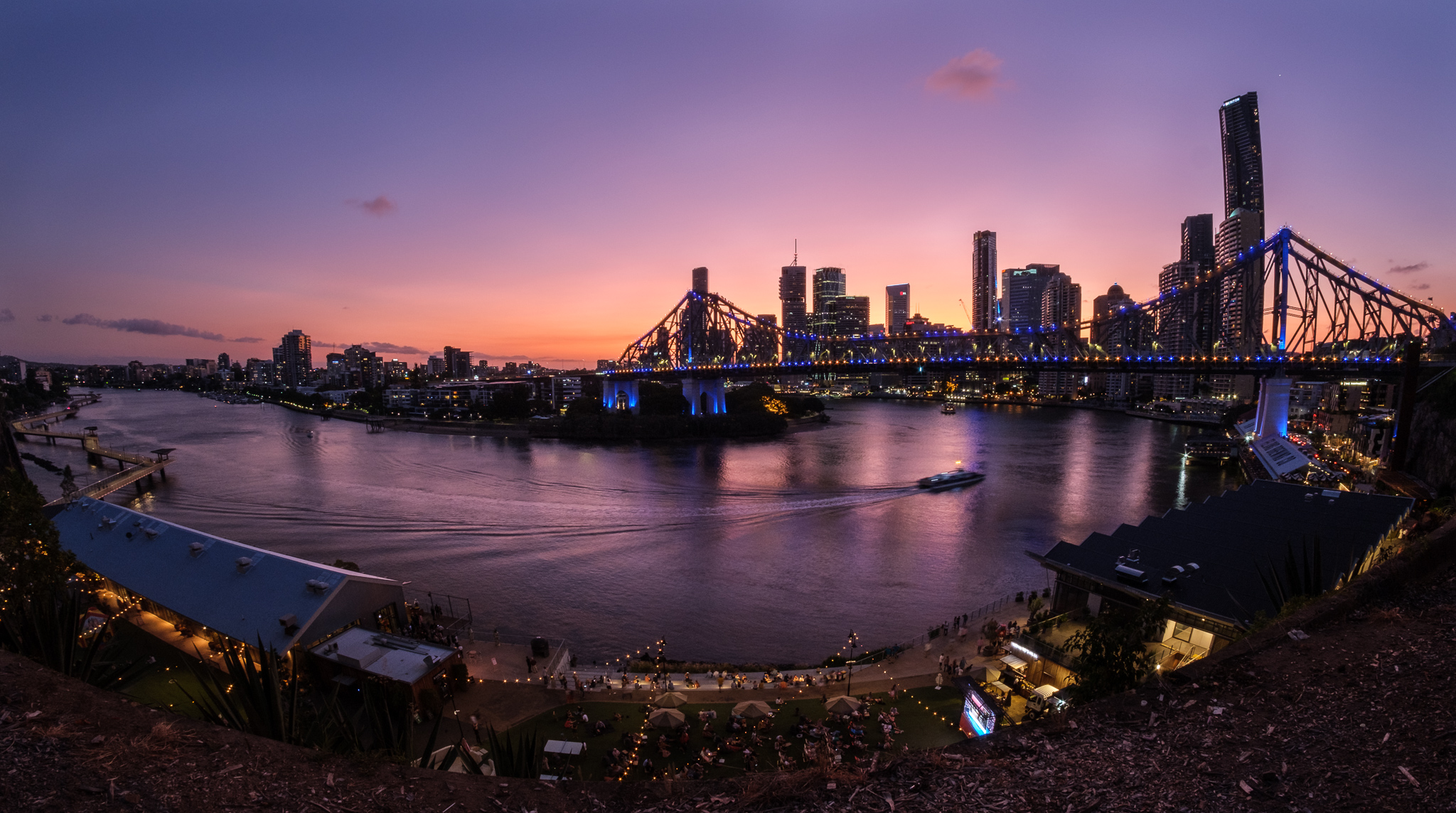 Pic of the Day – Story Bridge at Dusk