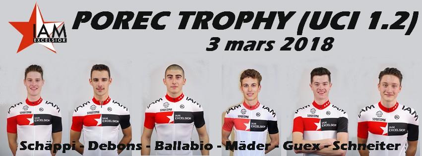 Place au Porec Trophy