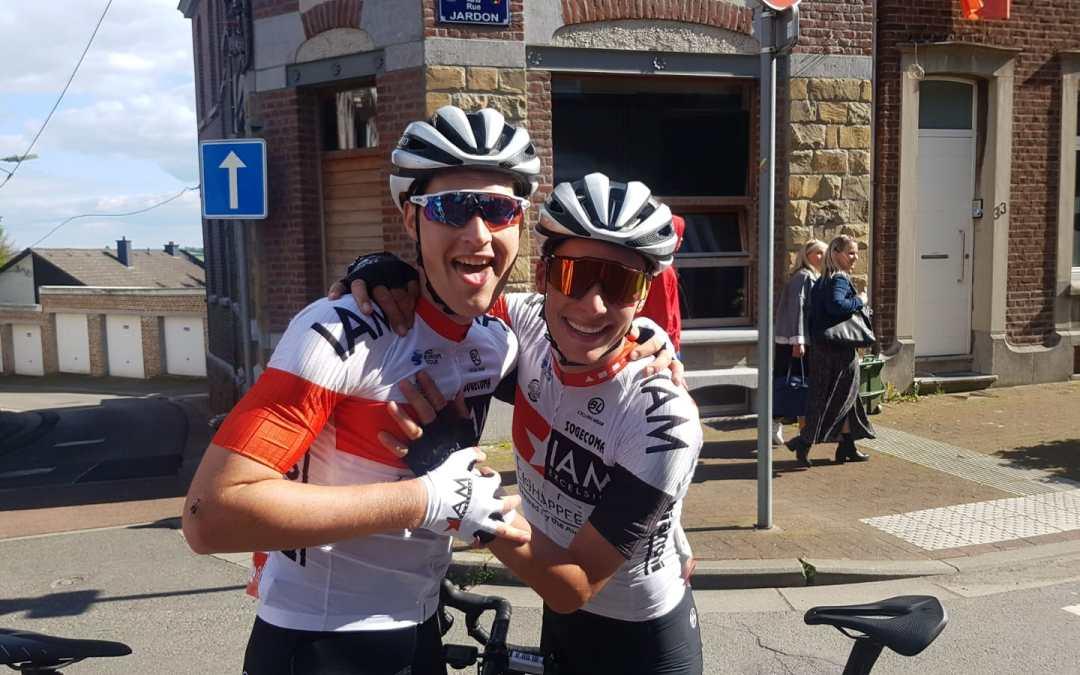 Flèche Ardennaise : Pellaud vainqueur, Schäppi 3ème !