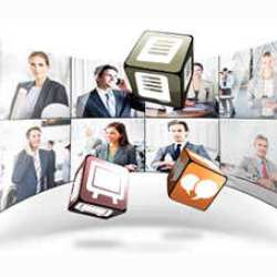 Desktop based video conferencing software