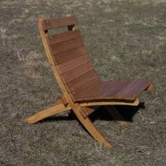 Folding Camp Rocking Chair Titanic Deck Large Wooden | Van's Chairs