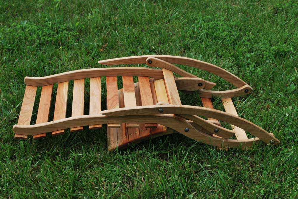 Large Folding Rocking Chair  Vans Chairs