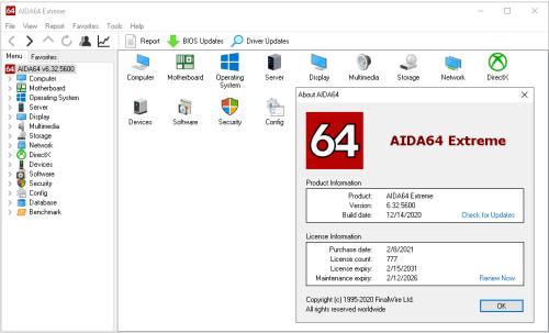 AIDA64 Extreme Crack