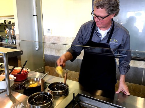 Roger Allen is owner and founder of Ciao Italian Grill at Seabridge Marketplace in Oxnard.