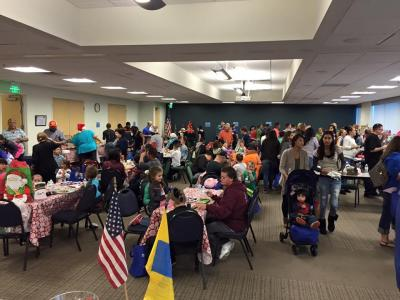 The Ventura County Military Collaborative hosts Operation Snowflake, which distributes toys to children of service members and veterans, at the collaborative' s main office in Camarillo.