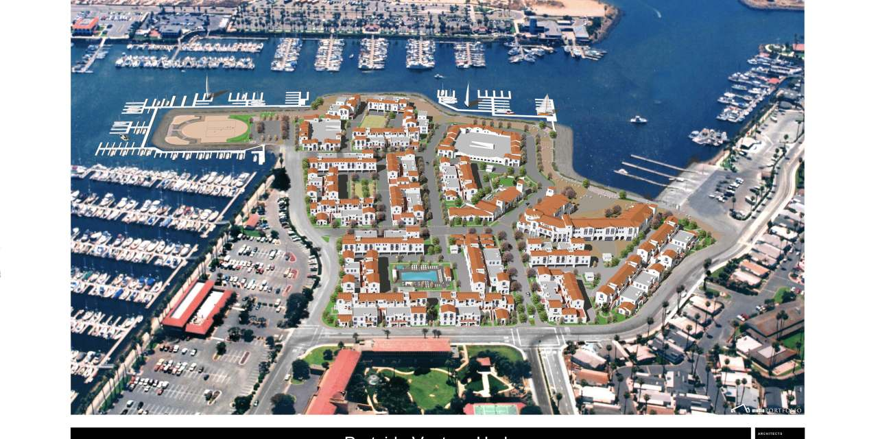 VENTURA HARBOR PROJECT UNDER WAY | 300-apartment, mixed-use development finally breaks ground