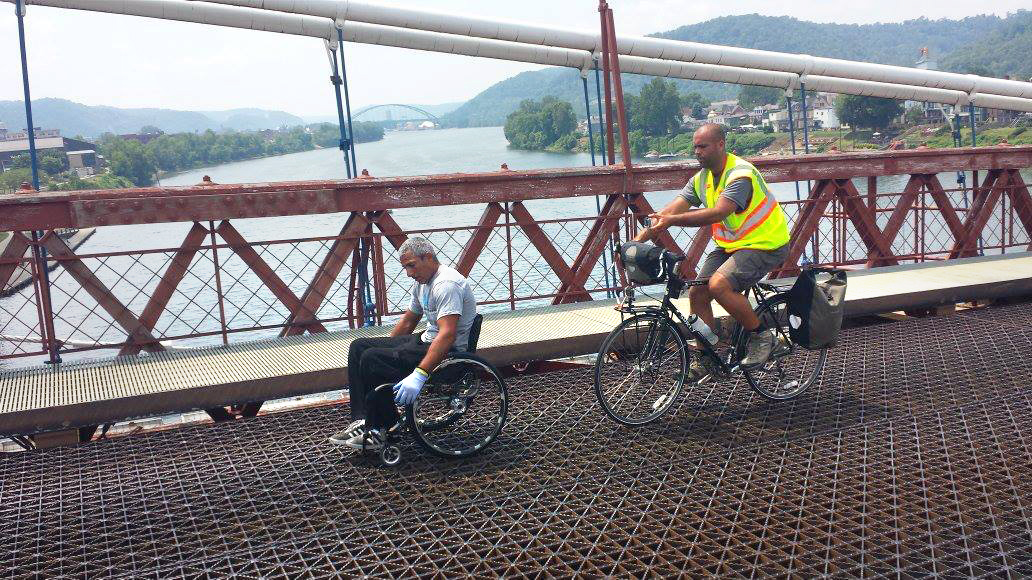 I WOULD ROLL 3,100 MILES | Gabriel Cordell talks 99-day trans-America wheelchair journey ahead of Ventura visit