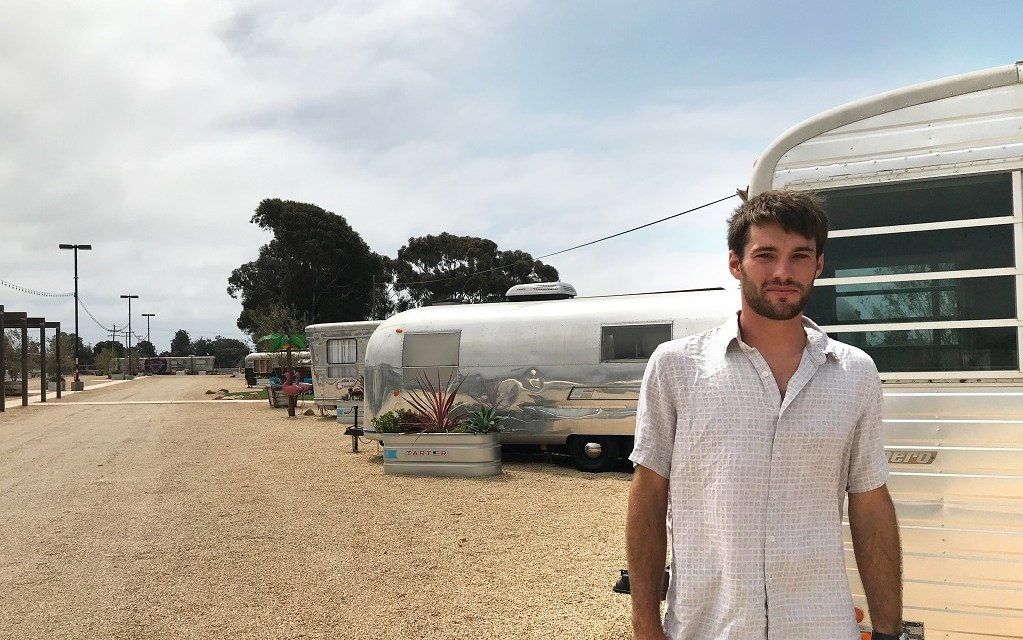 BACK TO THE FUTURE | Modern vintage theme of newest overnight accommodations in Ventura