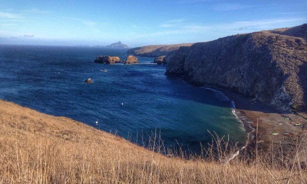 PEACE AND SERENITY | Day Trip to East Santa Cruz Island