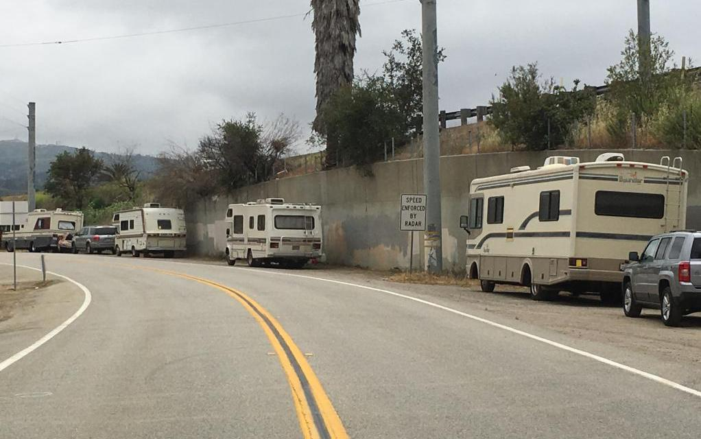 LAST RESORT | Locals manage life off grid in RVs, trailers with limited resources