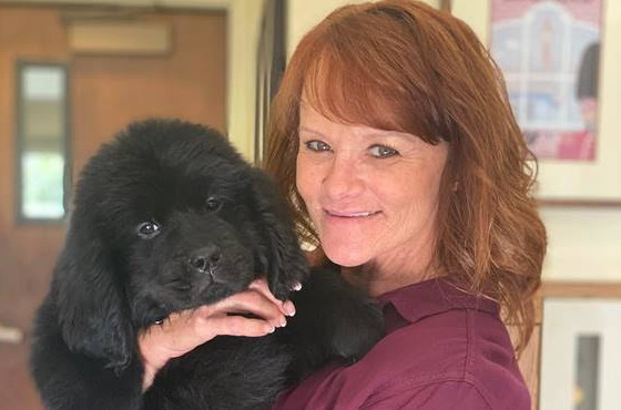 KINDNESS CORNER | Casa Pacifica welcomes Pearl the puppy