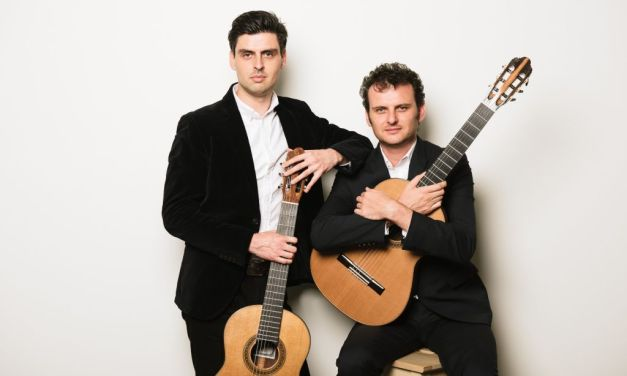CATCH THEM WHILE YOU CAN | Chamber on the Mountain presents sensational guitar duo Grigoryan Brothers