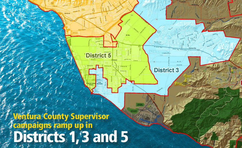 VC ELECTION 2020   Ventura County Supervisor candidates, Districts 1, 3 and 5