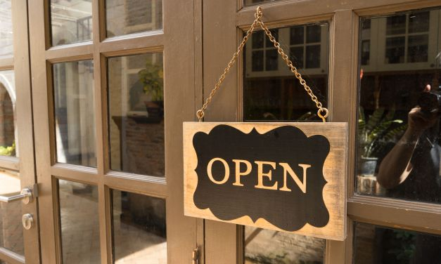 LIMITED REOPENING   Low risk businesses to be opened, with curbside pickup