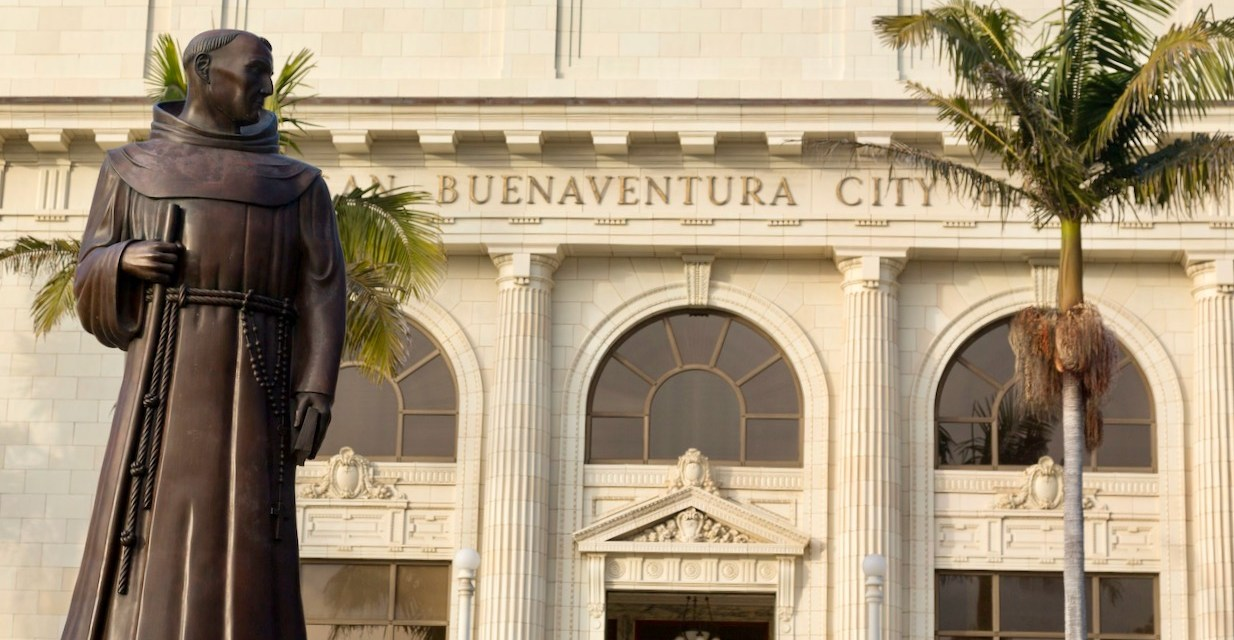 TIME TO REMOVE SERRA STATUE | Chumash, church and city agree