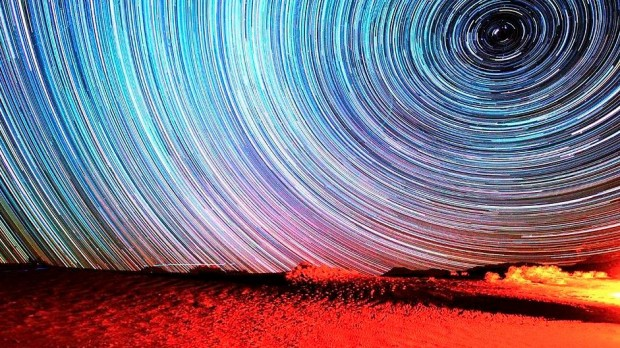 Dream Time Lapse image of stars