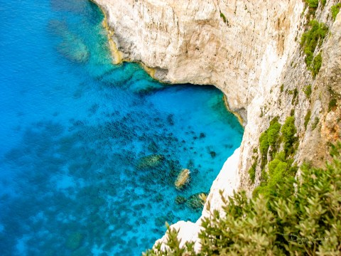 Navagio Beach (Shipwreck beach), Zakynthos (Zante), Greece