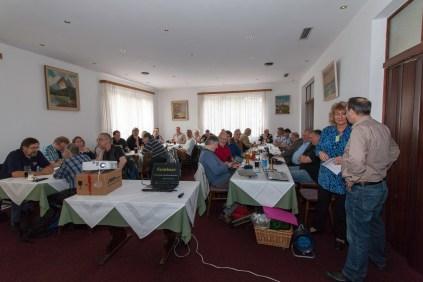 Das Aquaristikseminar war gut besucht. Foto Uwe Konrad