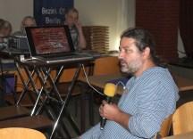 Frank Schäfer bei seinem Vortrag, Foto C. Kasselmann
