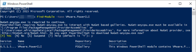 PowerCLI 1