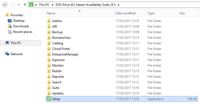 Veeam ONE setup