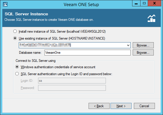 Veeam ONE step 7