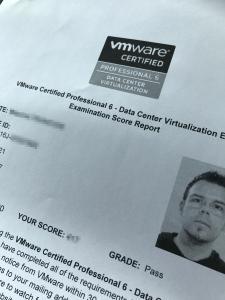 VMware certified !