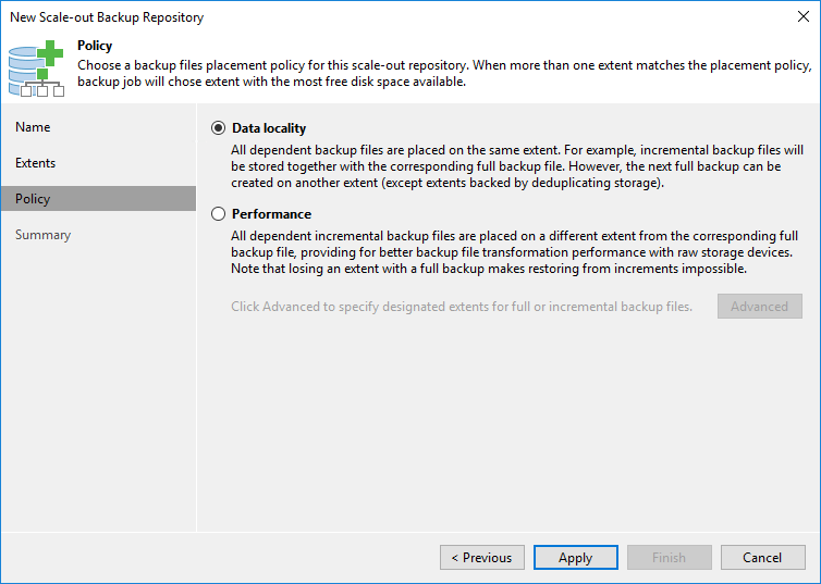 TUTO] -Veeam: Add a Scale-Out Backup Repository (SOBR