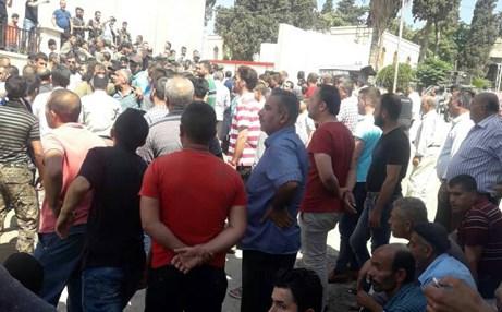 تظاهرة في عفرين على خلفية تصاعد وتيرة انتهاكات ضد المدنيين