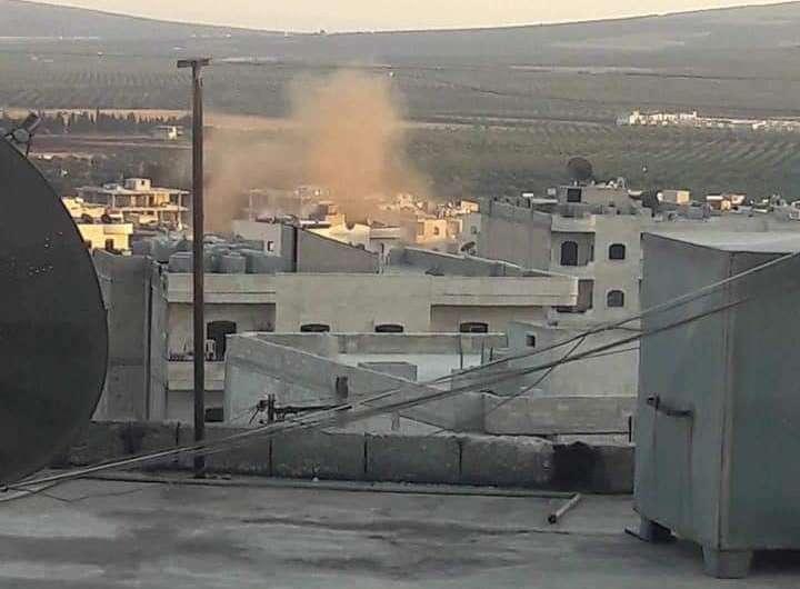 عفرين: أنفجار لغم قرب المركز الثقافي