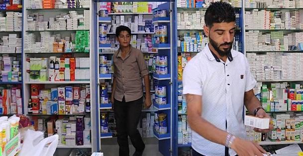 فوضى الاسعار وغلاء الادوية في مناطق الاحتلال التركي