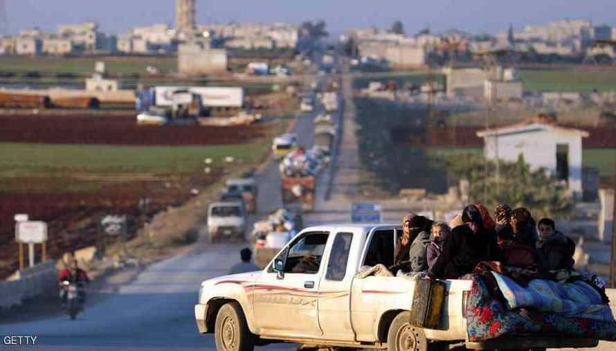 ادلب: انفجار سيارة مفخخة خلال الليل في مدينة الدانا