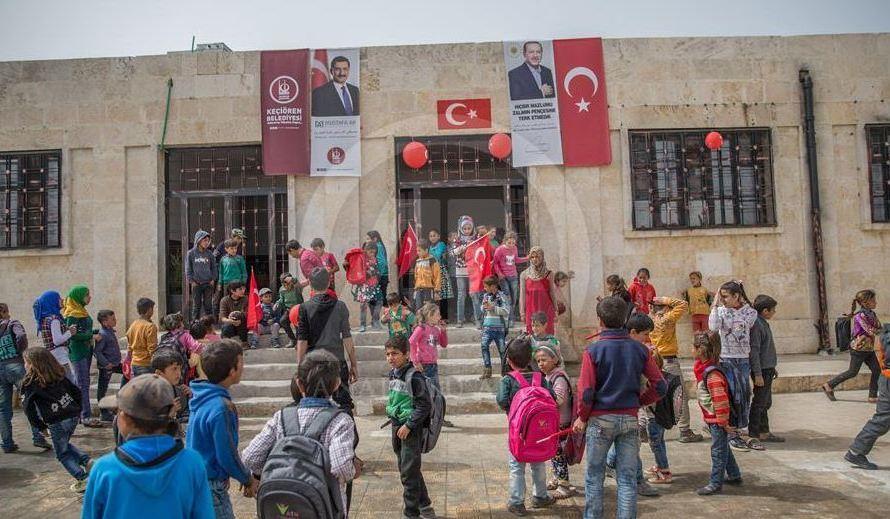عفرين: تحويل المدارس والمرافق المدنية الى مقرات أمنية وعسكرية وسجون