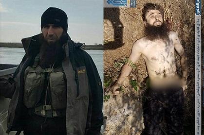 ادلب: مقتل الاخ الأصغر لعمر الشيشاني احد أشهر قادة تنظيم الدولة الاسلامية