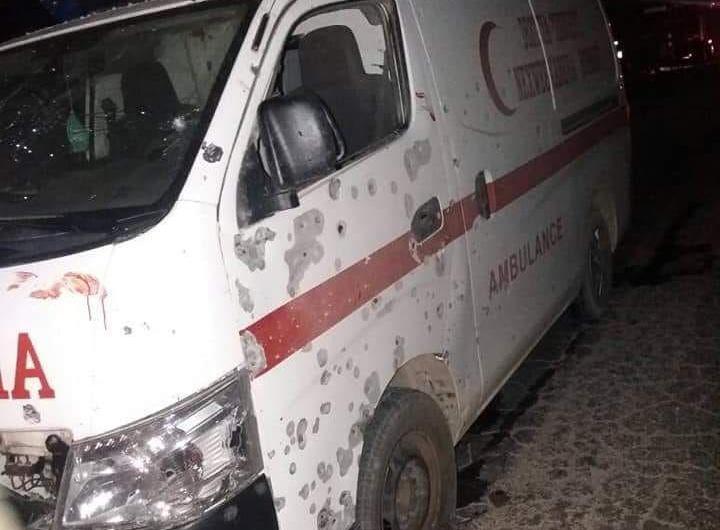 منبج: جرحى في انفجار لغم بسيارة اسعاف