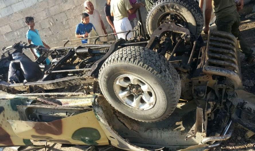 جرابلس: عبوات ناسفة تستهدف قادة ميليشيات الجيش الحر