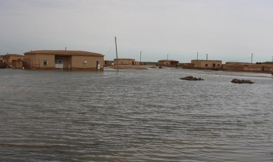 الأمطار الغزيزية والفيضانات تجتاح 41 قرية في الحسكة السورية وتتسبب في خسائر مادية كبيرة