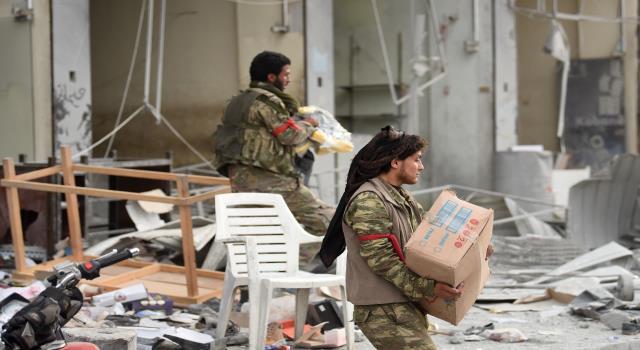 جماعة مسلحة تتبنى مقتل 7 من مسلحي فصائل موالية لأنقرة بريف حلب